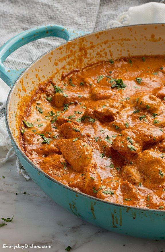 Homemade Tikka Masala with Chicken Recipe
