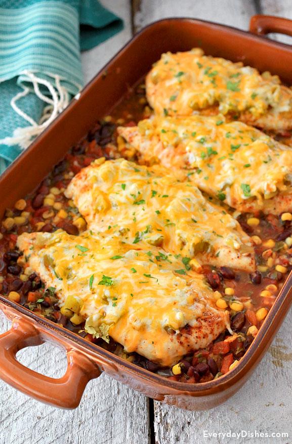 Santa Fe Baked Chicken Recipe