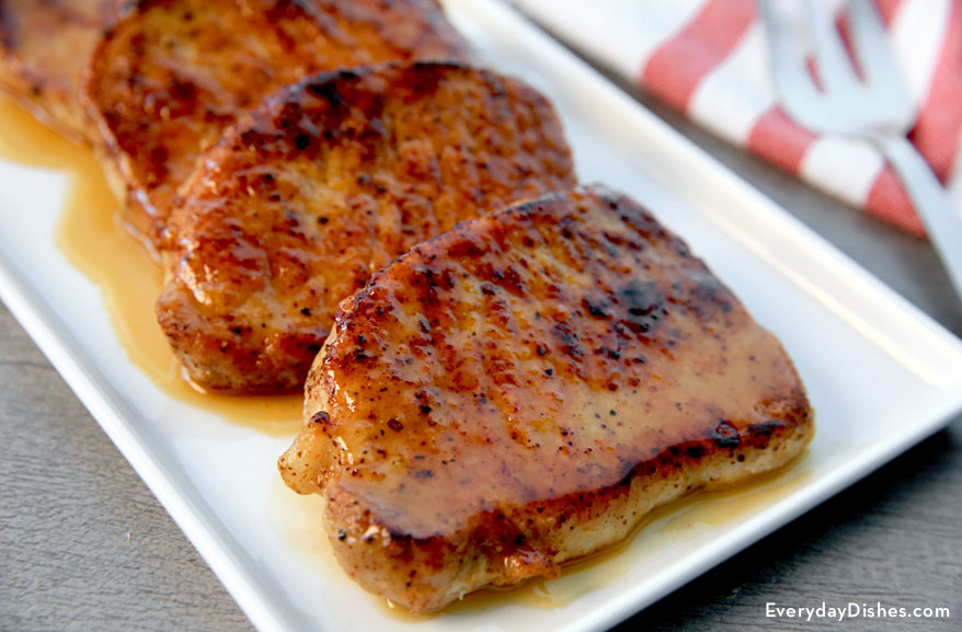 Apple Cider-Glazed Pork Chops Recipe