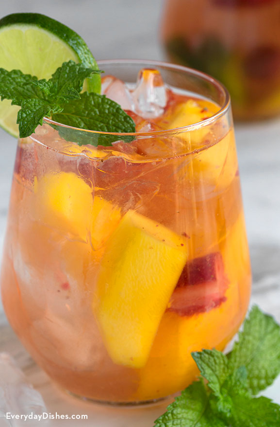 Mango ginger vodka cocktail recipe
