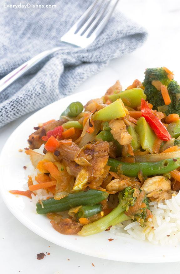 Chicken Teriyaki Stir-Fry Recipe