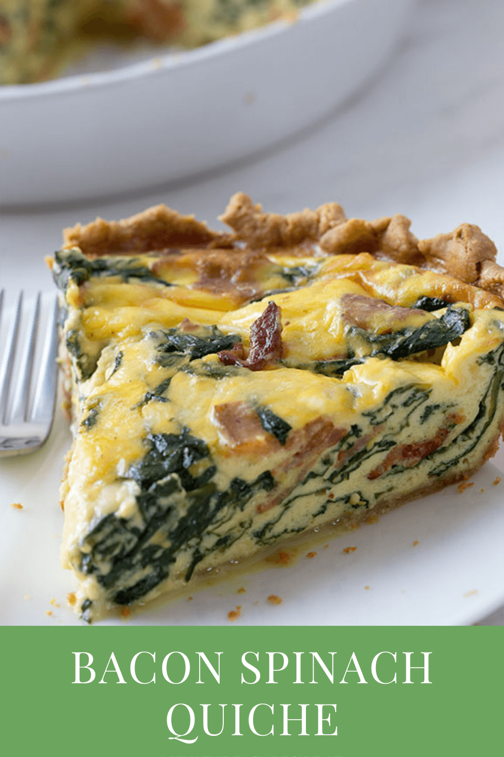 Bacon Spinach Quiche best brunch recipes