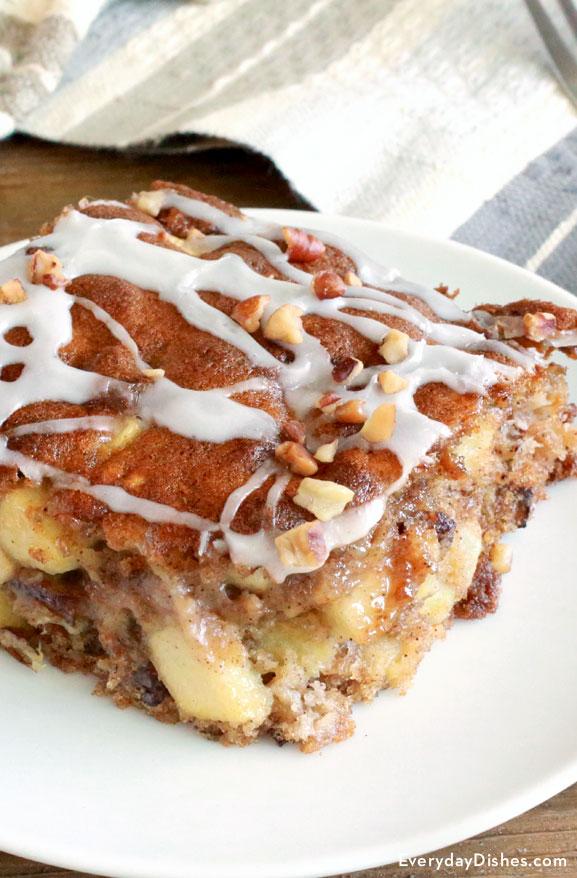 Oatmeal apple breakfast bake recipe