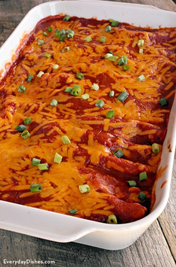 Einkorn chicken enchiladas recipe