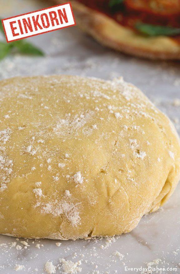 Einkorn pizza dough recipe video