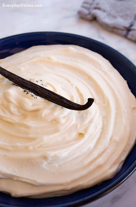 Vanilla cream filling recipe video