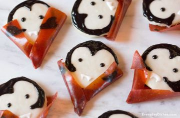 Vampire Cookies for Halloween