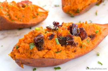 Twice-Baked Sweet Potatoes Recipe