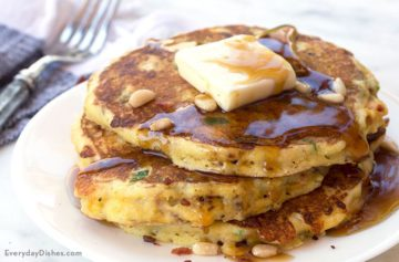 Green Chili Pancakes Recipe