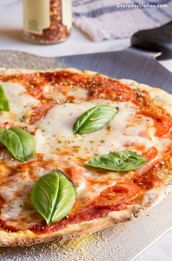 Classic Margherita Einkorn Pizza Recipe