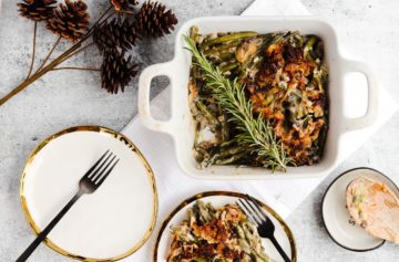 The Best Dairy-Free Green Bean Casserole