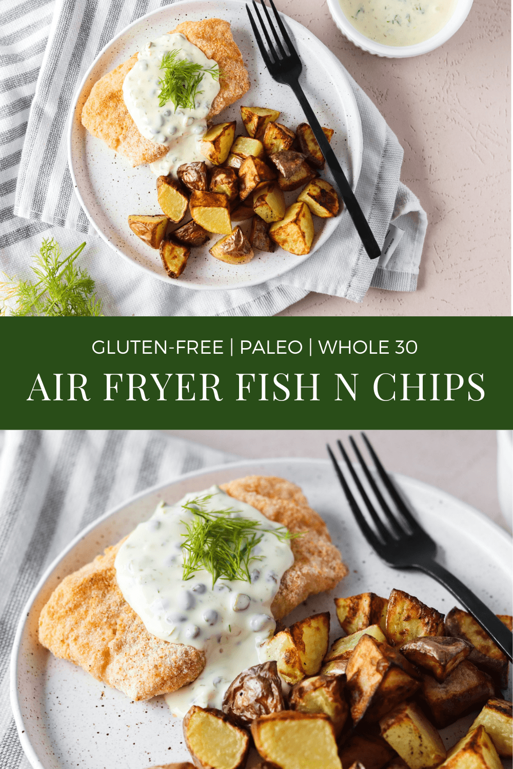 Healthy Fish and Chips Recipe