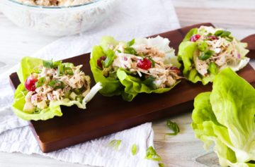 Paleo Chicken Salad Lettuce Cups