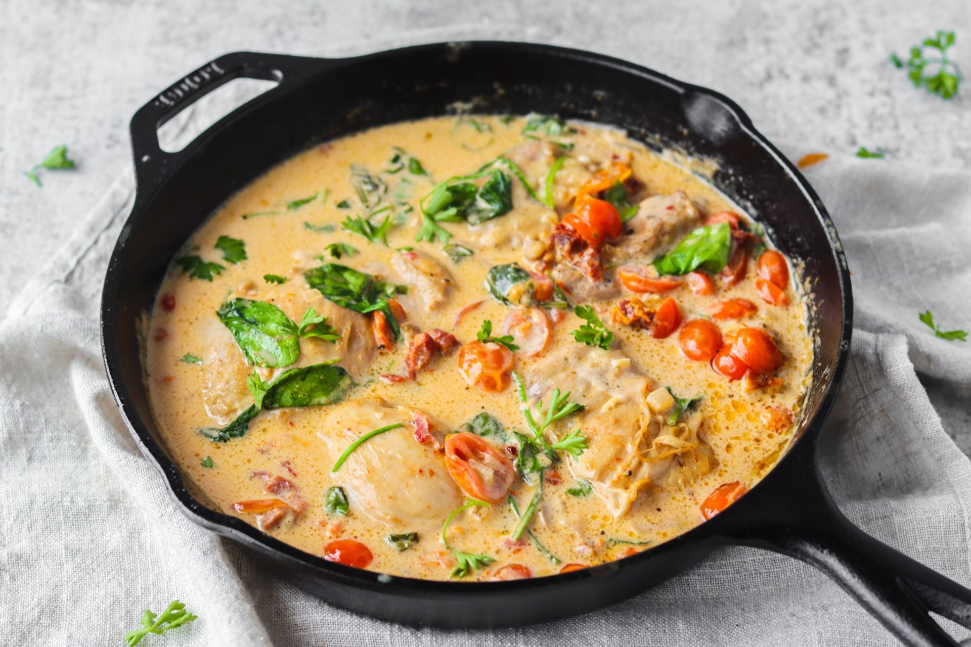 creamy tuscan chicken recipe keto friendly