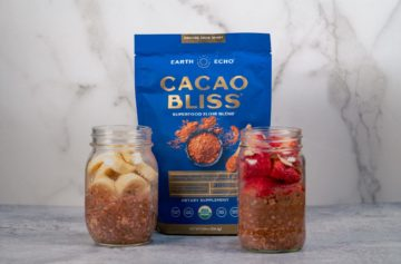 Cacao Bliss Chocolate Peanut Butter Overnight Oats